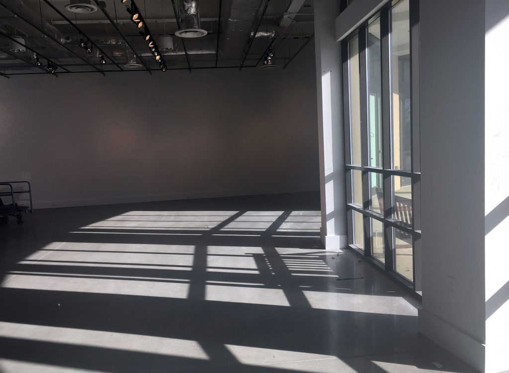 TCNJ Art Gallery Closed for Installation