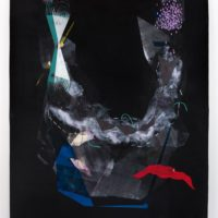 Caroline Kent: A Figure Walks Toward You In The Dark