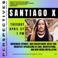Artist's Talk with Santiago X!